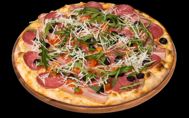 32. HIERBA - pizza na cienkim cieście