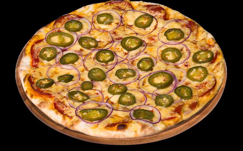 33. PICANTE - OSTRA!! pizza na cienkim cieście